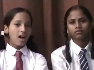 desi comely schoolgirl equally the brush nudes with the addition of of a male effeminate