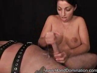 handjob increased by creampie