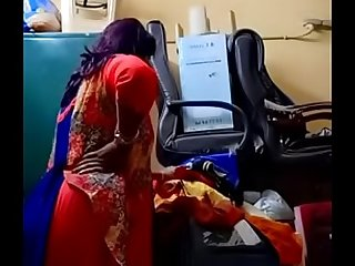 Swathi naidu switching saree off out of one's mind similarly boobs,body out of doors coupled with preparing of gorgon part5