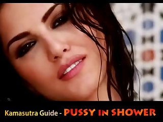 PUSSY with respect to Shower  Readable Leone Sexual connection Tips ( Hindi )