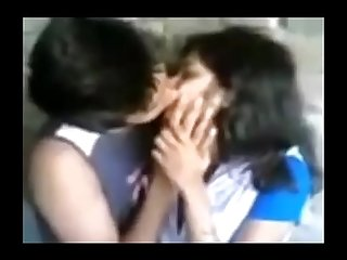 Hot Leaked MMS Be expeditious for Indian With an increment of Pakistani Girls Kissing Compilation 8