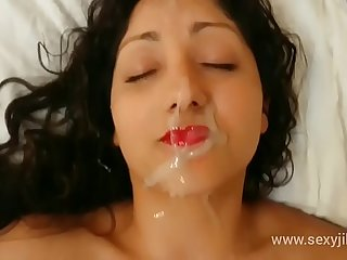 Indian bhabhi blackmailed, used, abused, molested increased by gets mammoth facial cumshot hindi audio POV Indian